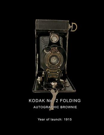 No. 2 Folding Autographic Brownie Camera 1916