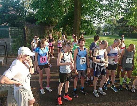 2 mile race Eastville Park 15th May