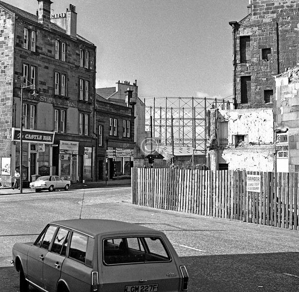 Turriff St from McKinlay St.    August 1975