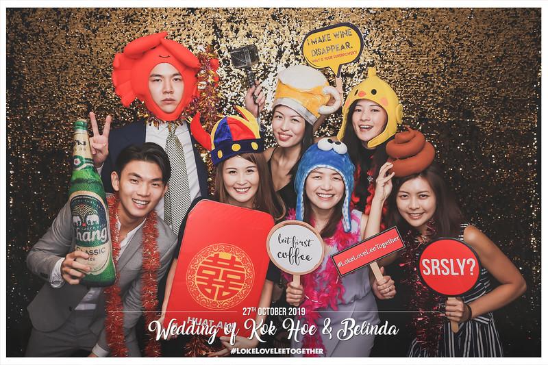 Wedding of Kok Hoe & Belinda   © www.SRSLYPhotobooth.sg