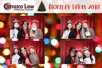 Carrazco Law Holiday Party 2018