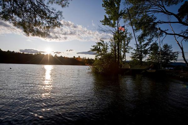 Lake Kezar Weekend at Briber's House