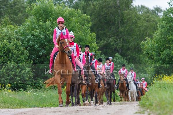 Ohtu Kestvusratsutamine 2014, 34-80 km, Pink Ride 15 km