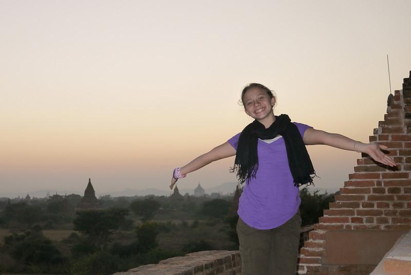 Ana in Bagan, Burma (Myanmar)