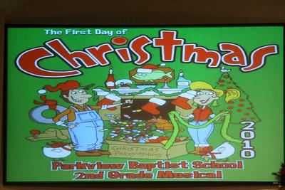2010 2nd Grade Christmas Program
