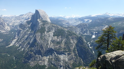 2017/06/21 Yosemite with Jeff at Glacier Point, Sentinel Dome, and part of the Pohono Trail. Lots of Great views.