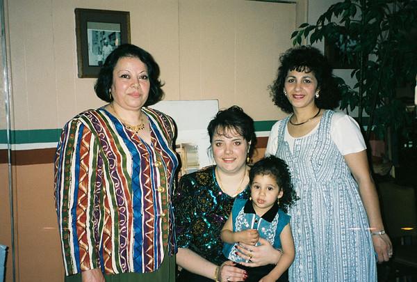 Chantal Haddad's Bridal Shower March 22 1997