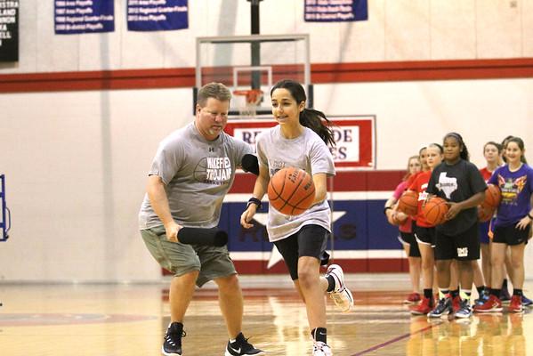 Lady Rebel basketball