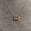 'For You I Live' 18kt Rose Gold Cast Rebus Pendant, by Seal & Scribe 14