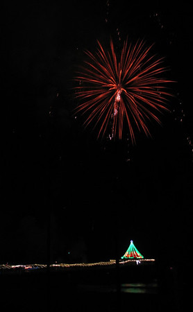Holiday Manhattan Beach Fireworks
