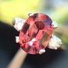 2.17ct Diamond & Spinel 3-Stone Ring 5
