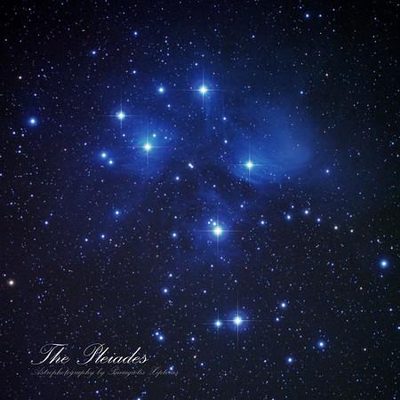 Perseus, h+x, Pleiades