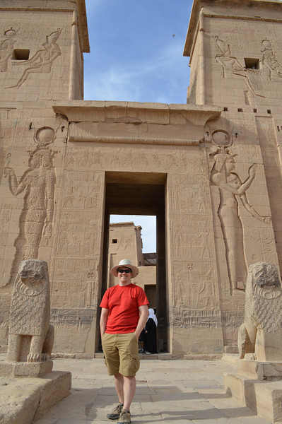 30226_Aswan_Mike at Philae Temple.JPG