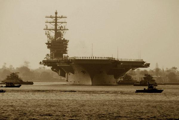 USS NIMITZ  Departs For Persian Gulf