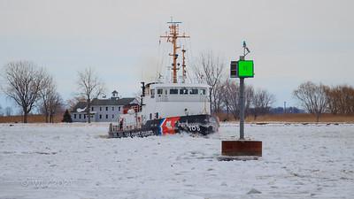 Harsens Island ICE 2011