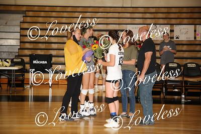 Volleyball SENIOR NIGHT!! 9/30/21