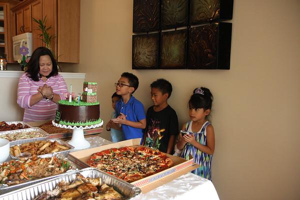 Angelo's 8th Fake Birthday