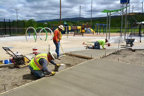 Noel Field Splash Pad construction - 052119