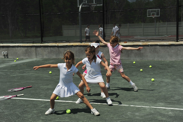 The Ross School Family Tennis Day- Youngsters Clinic