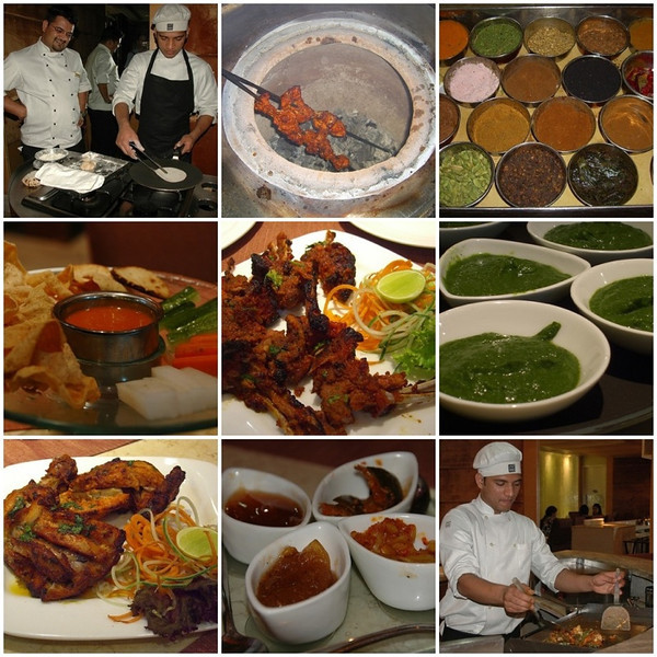 Indian Food Mosaic - Chandigarh, India