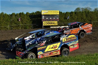 Cornwall Motor Speedway - 5/26/19 - Rick Young