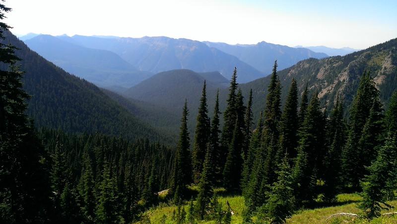 Even better view of Jordan Creek Basin