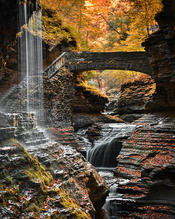 Autumn at Watkins Glen