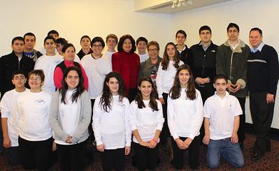 Dr. Anny Bakalian visits Khrimian Lyceum