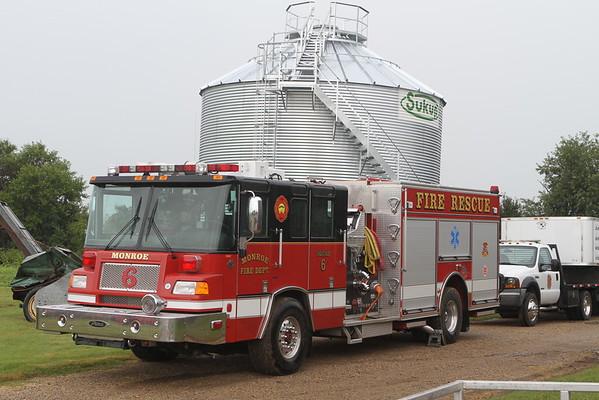 Monroe Fire School 2016 Merit Center