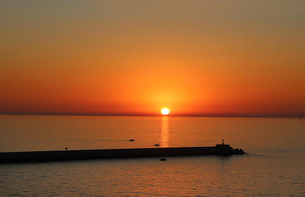 The Adventure Begins! Embarkation, Livorno, Tuscany