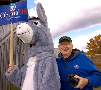 Political rally in Vermont