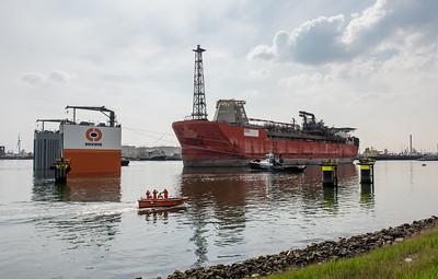 Rotterdam Dockwise Vanguard mei2015