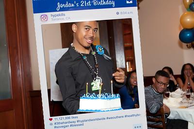 Jordan's 21st Birthday