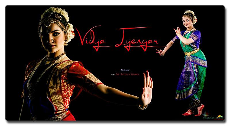 Vidya Iyengar's Pre-Arangetram Portraits 2021