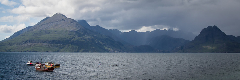 View from Elgol, we hiked up the other side of the ridge