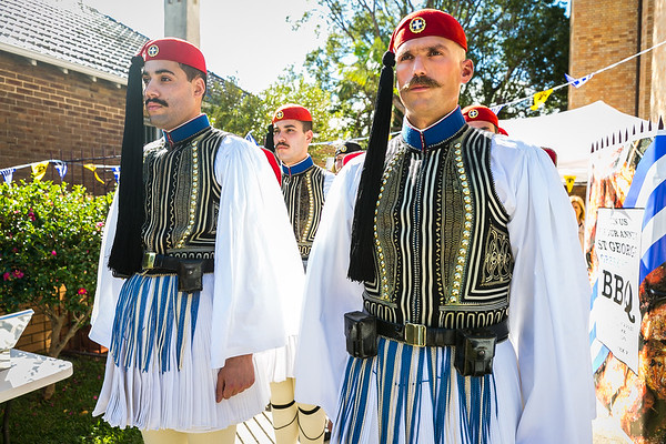 2018 Greek Presidential Guard St George Church Sydney Australia