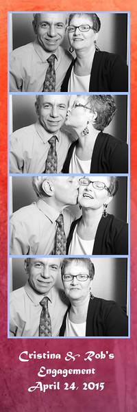 Cristina & Rob's Engagement April 24, 2015