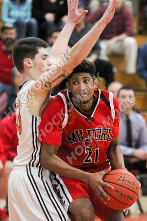 Milford-Marlboro Boys Basketball - 02-27-17