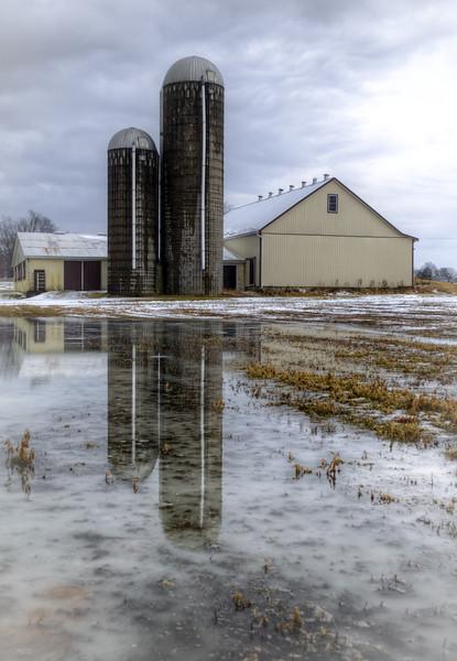 snow - barn and silos reflection(p).jpg