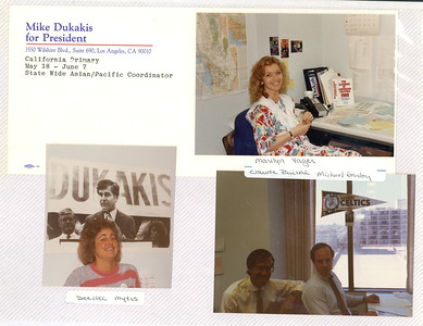 5-18 to June 7 Dukakis for President Calif primary
