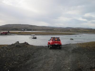 Vöð og Vatnasull Bílaflokks 17 - 18 Sept. 2011