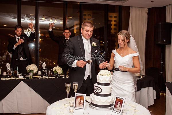 Cake Cutting - Abby and John