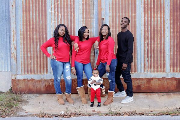 Jamaria and Family