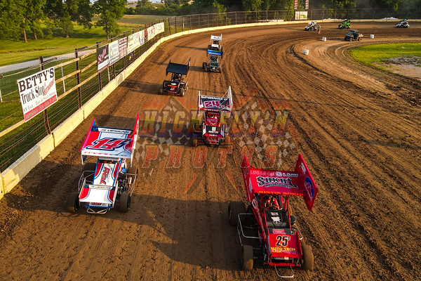 SMALL TOWN THROW DOWN OUTLAW WING MICROS SWEET SPRINGS