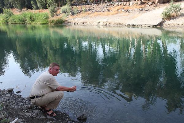 Jordan River, Israel - May, 2010