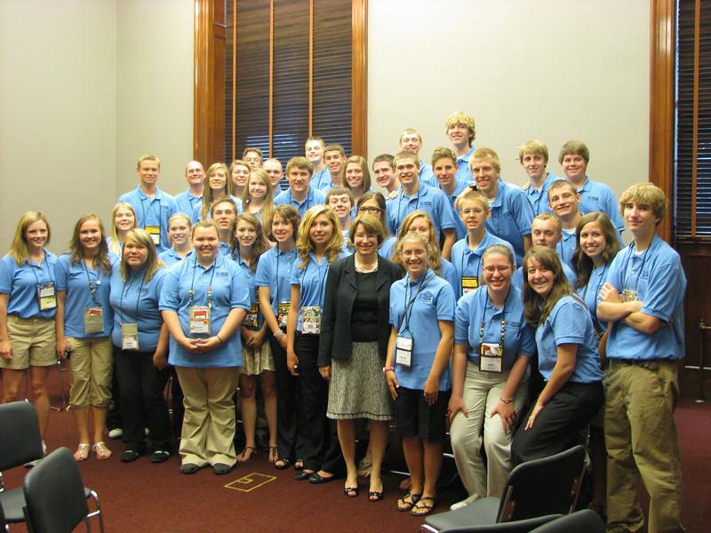 Photo Op with Senator Amy Klobuchar