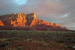 Vermillion Cliffs sunrise.