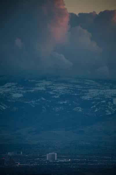 Reno Stormy Sky