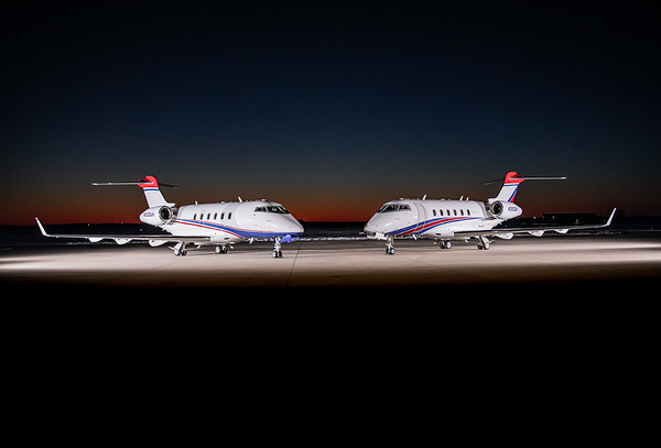Challenger 300 N300KH And N300DH