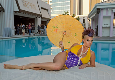 Las Vegas: Poolside Fashion Show